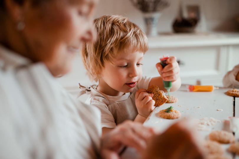 Make Christmas Cookies with Kids